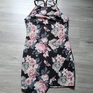 Ardene Floral High Neck Dress